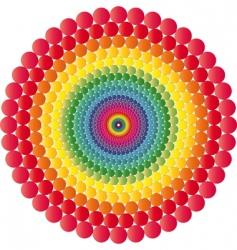 vector geometric illusions vector image