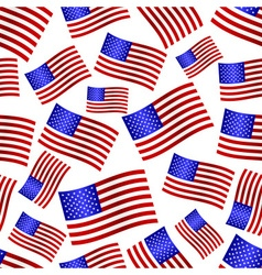 usa national flag celebration seamless pattern vector image vector image