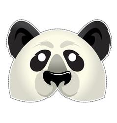 Mask Panda vector image