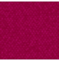 Red technology background vector image