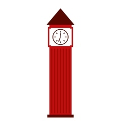 big ben london isolated icon design vector image