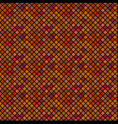Abstract brown seamless diagonal square pattern vector