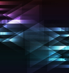 abstract dark multicolor motion arrow overlap vector image