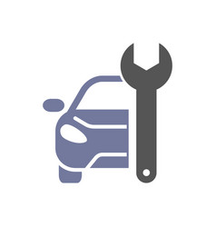 auto repairing logo automotive and vector image