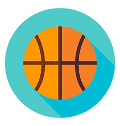 Basketball Circle Icon vector image