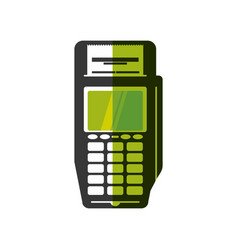 Dataphone payment system vector