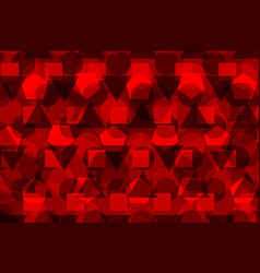 geometric background - red vector image