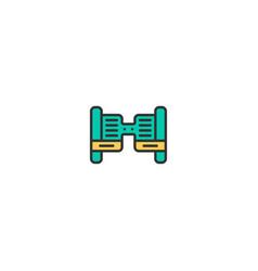 Hover board icon design transportation icon design vector