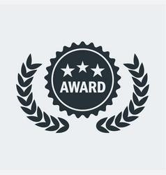 cinema award medal vector image