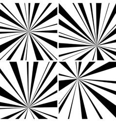 Light beams vector image vector image