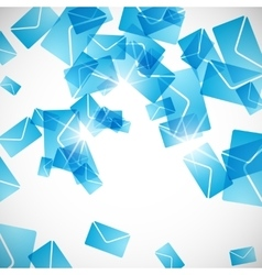 abstract background envelope vector image