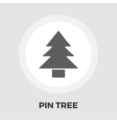 Conifer icon flat vector image