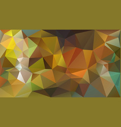 Abstract irregular polygon background khaki vector