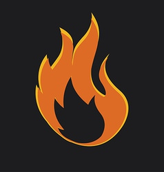fire design vector image