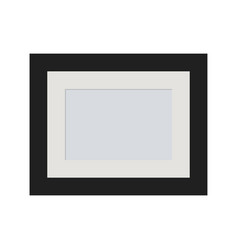 photo frame on a background vector image