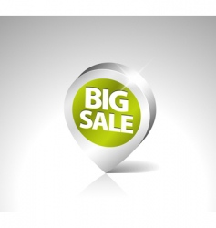 retail sale tag vector image vector image