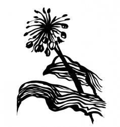 plants sketch vector image vector image
