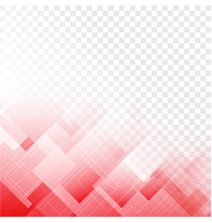 abstract transparent squares with rhombus texture vector image