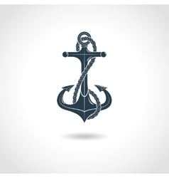 Anchor Silhouette Isolated Object vector