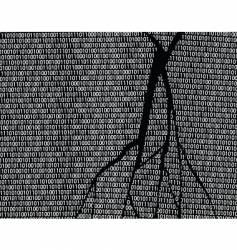Binary breakdown vector