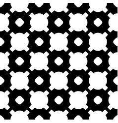 Black white geometric texture circles crosses vector