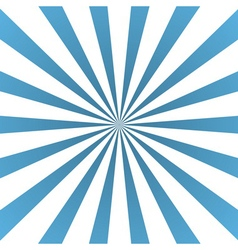 Blue white rays poster flare vector