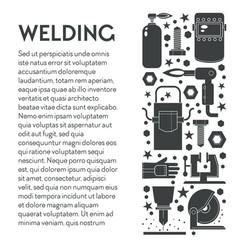 building works welding equipment toolkit weld vector image