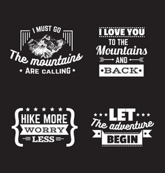 collection quote typographical background vector image
