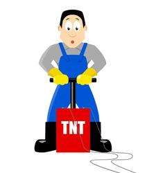 Detonating TNT vector