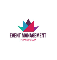 Event management logo vector