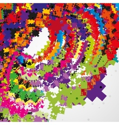 Futuristic abstract vector