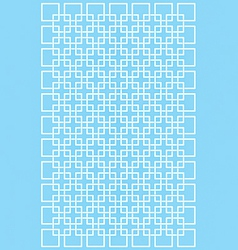 geometric intelaced pattern vector image
