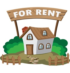 House for rent vector