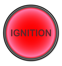 Ignition button vector