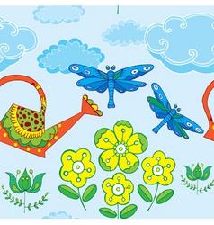 oriental print vector image