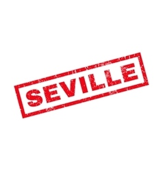 Seville Rubber Stamp vector