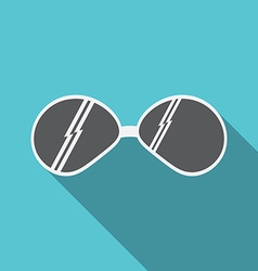 sunglasses icon v vector image