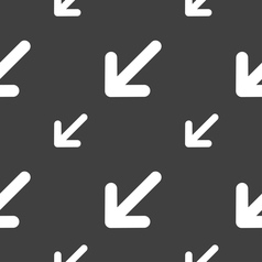 turn to full screenicon sign Seamless pattern on a vector image
