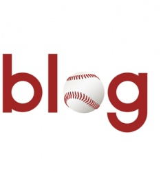 sports blogs vector image vector image