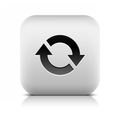 Arrow icon reload rotation loop refresh sign vector