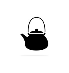 kettle icon concept for design vector image