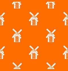 Mill pattern seamless vector