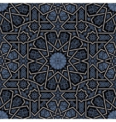 Seamless islamic Moroccan pattern Arabic vector