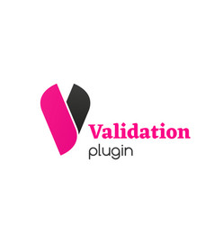 sign validation plugin vector image