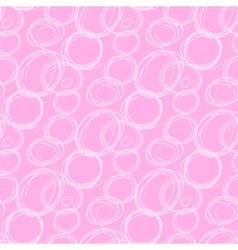 Circles abstract seamless pattern vector image