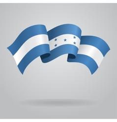 Honduras waving Flag vector image
