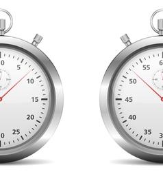 Half of a stopwatch vector image vector image