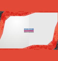 border shape background grunge vector image