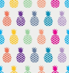 EXOTIC PINEAPPLE PATTERN vector image