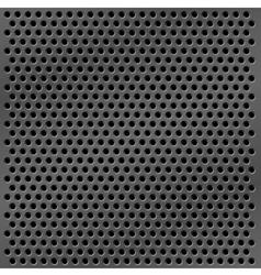 metal mesh background vector image vector image